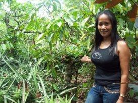 Alma i Filipinene som fikk lån av meg til jordbruk