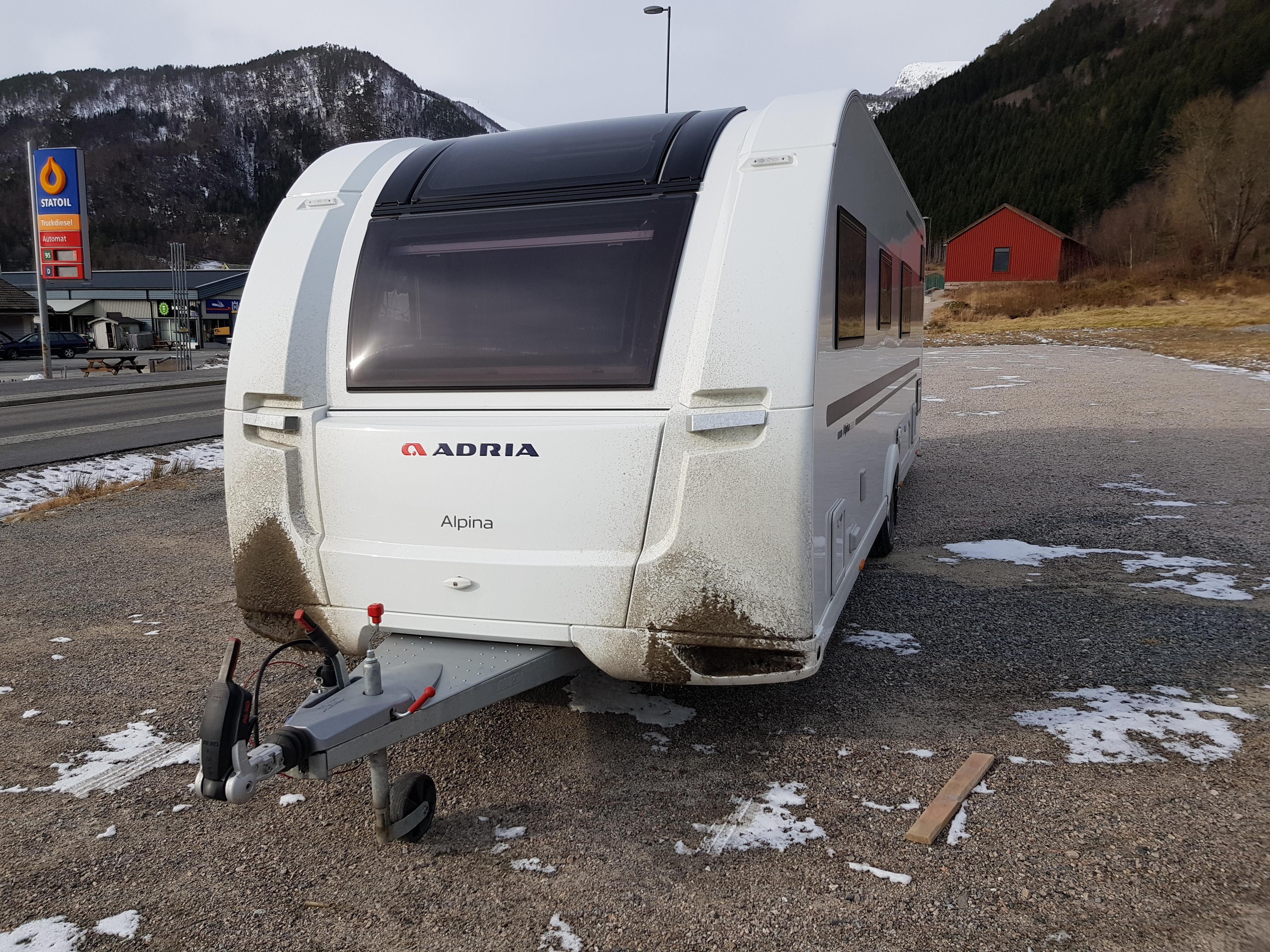 campingvogn hekte strøm